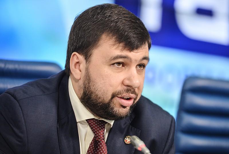Постоянный полномочный представитель ДНР в Контактной группе по урегулированию ситуации на востоке Украины Денис Пушилин