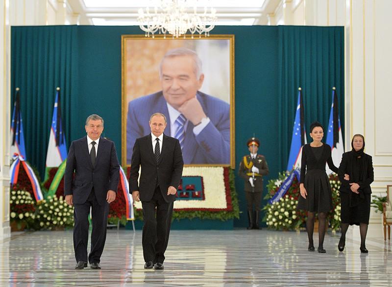 Визит президента России Владимира Путина в Узбекистан