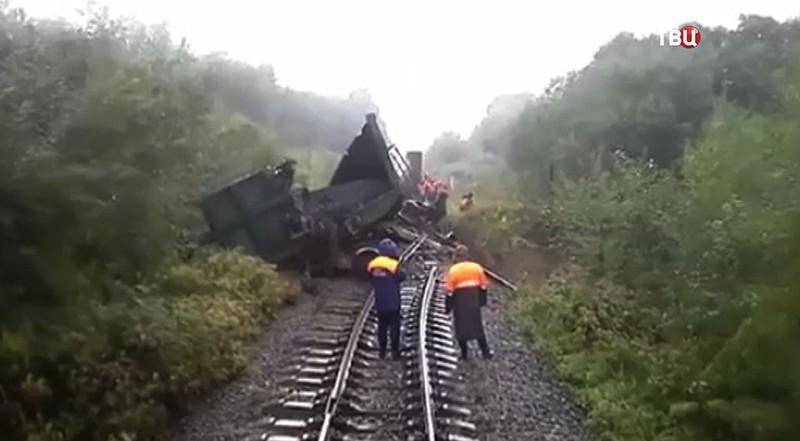 НаСахалине остановили движение всех поездов
