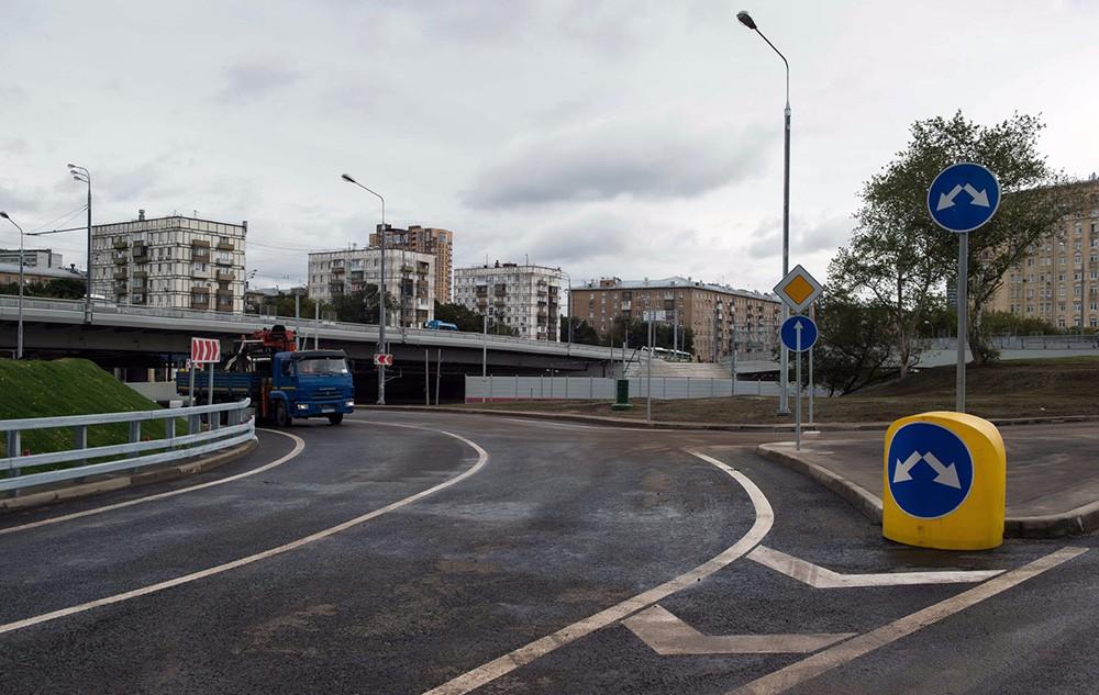 В столице России завершена реконструкция путепроводов над способами МЦК— Собянин