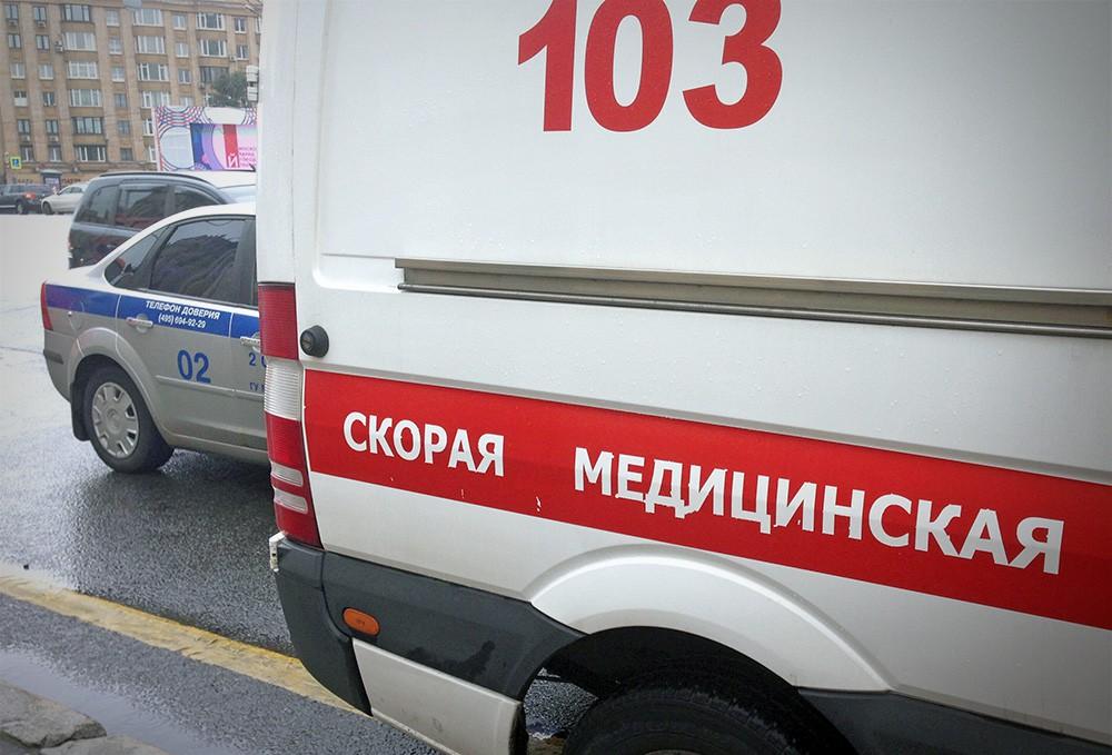 Скорая помощь и полиция