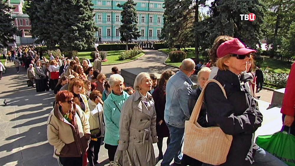 Очередь ГМИИ им. Пушкина