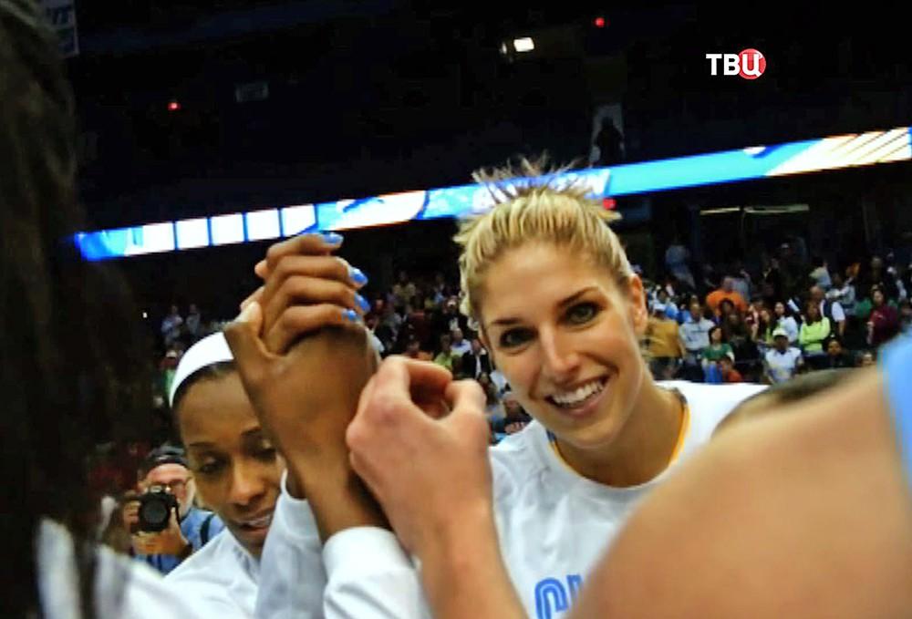 Американская баскетболистка Елена Делле Донн