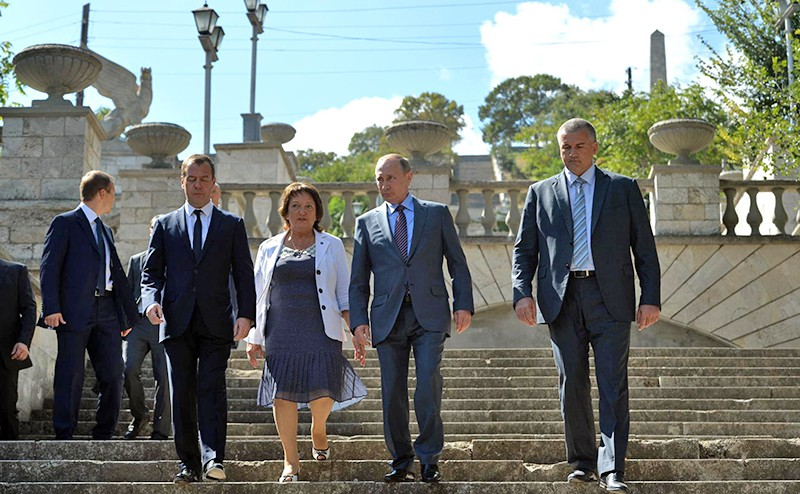 Путин пообещал отыскать 1,5 млрд. наремонт Митридатской лестницы