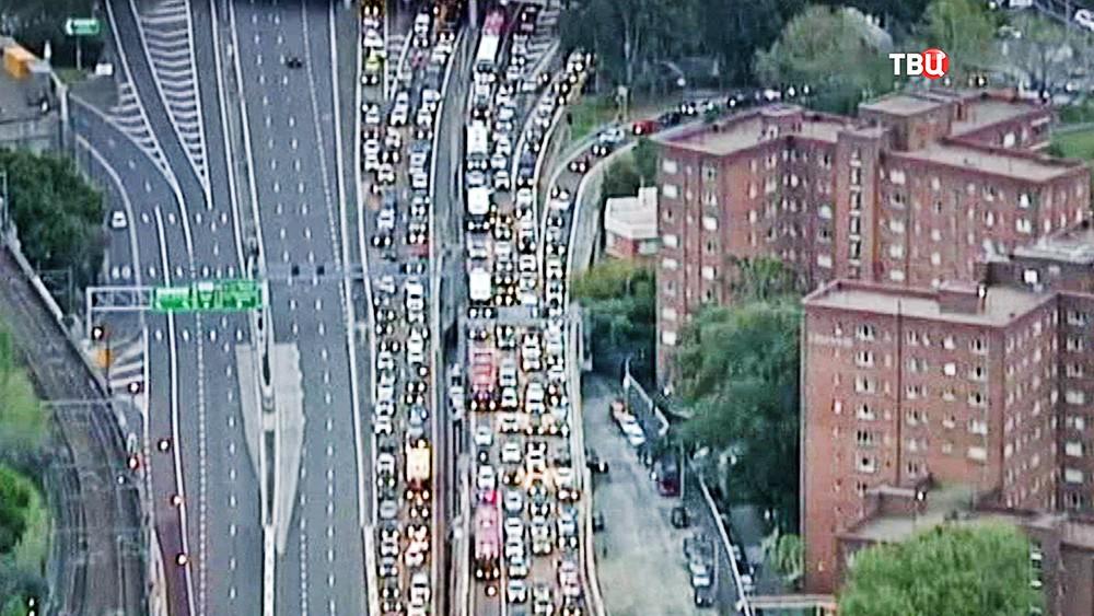 Автомобильные пробки в Сиднее