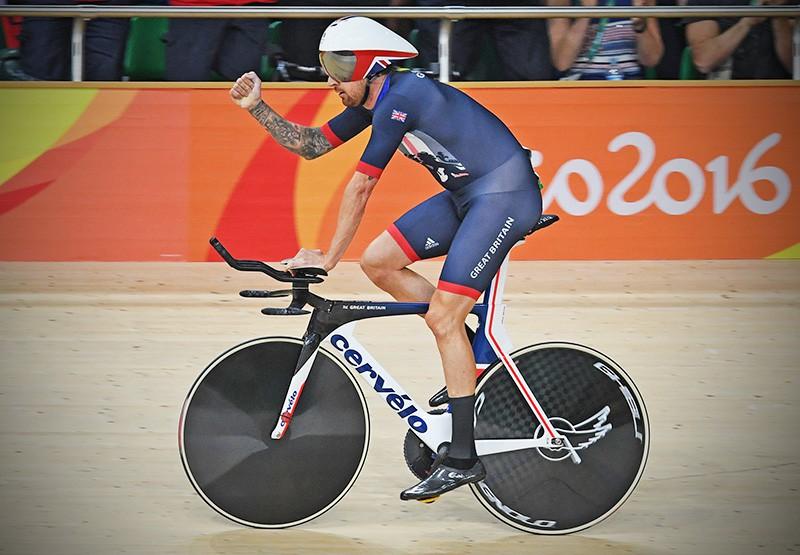 Британец Брэдли Уиггинс на олимпиаде в Рио-де-Жанейро