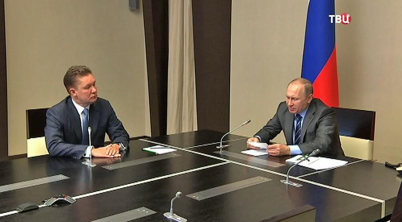 Президент России Владимир Путин в режиме видеосвязи принимает участие в запуске в промышленной эксплуатации Восточно-Мессояхского месторождения