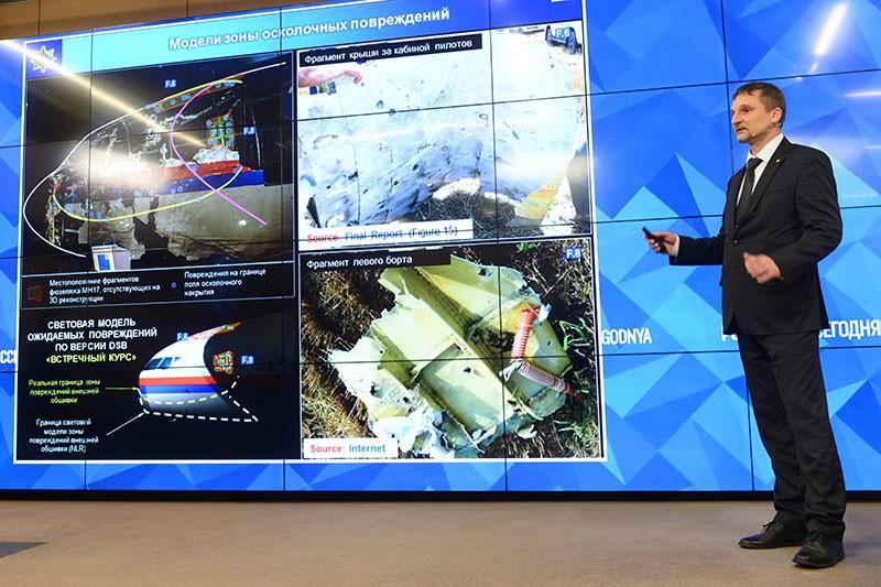 Предварительный доклад следственной группы по расследованию крушения на востоке Украины в 2014 году лайнера Boeing 777 Malaysia Airlines (рейс MH17)