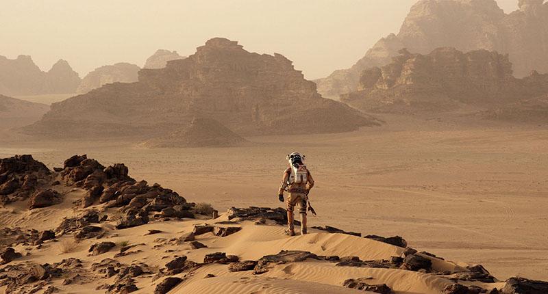 Поверхность планеты Марс