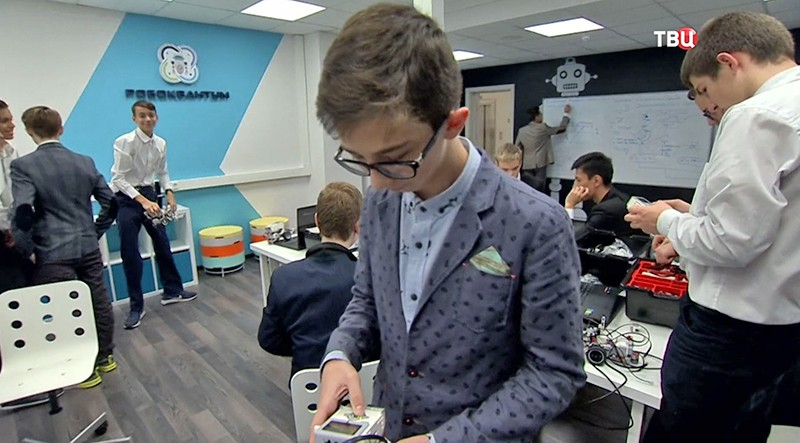 Сергей Собянин на открытии детского технопарка