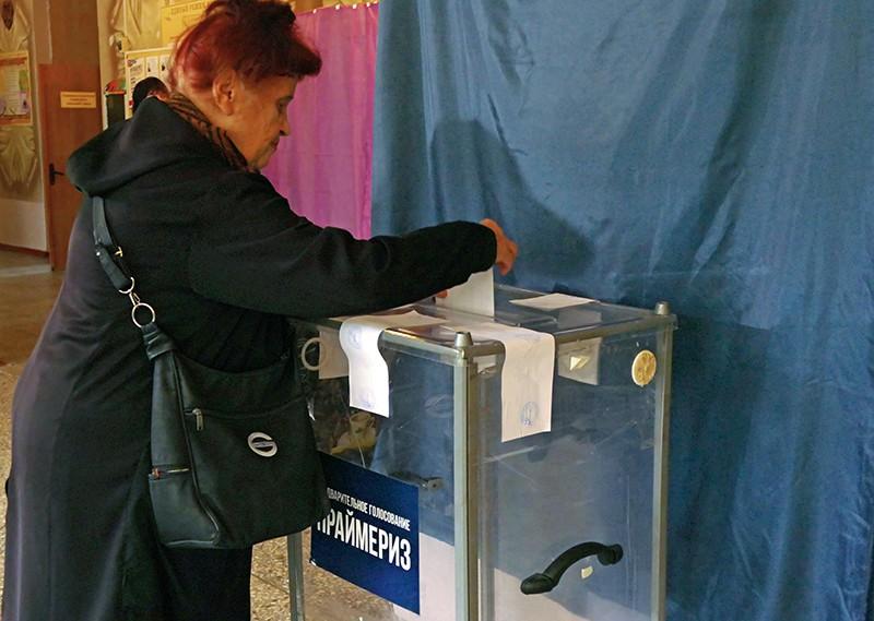 Жители Донецка участвуют в предварительном общественном голосовании