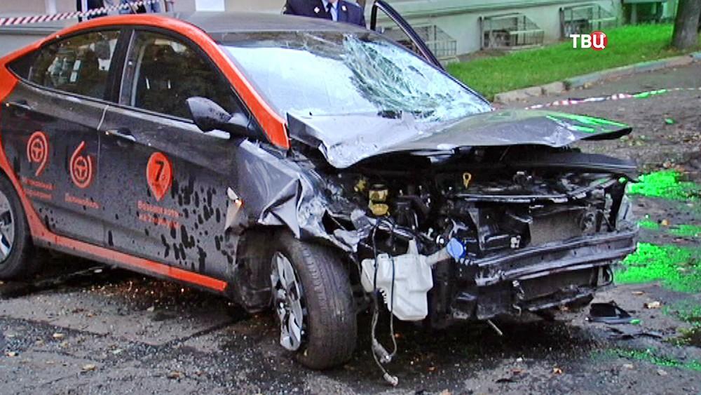 Последствия ДТП с участием арендованной машины