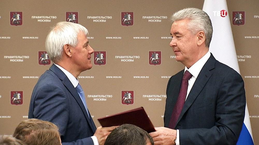 Сергей Собянин и Владимир Черников