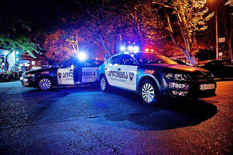 Автомобили полиции Грузии