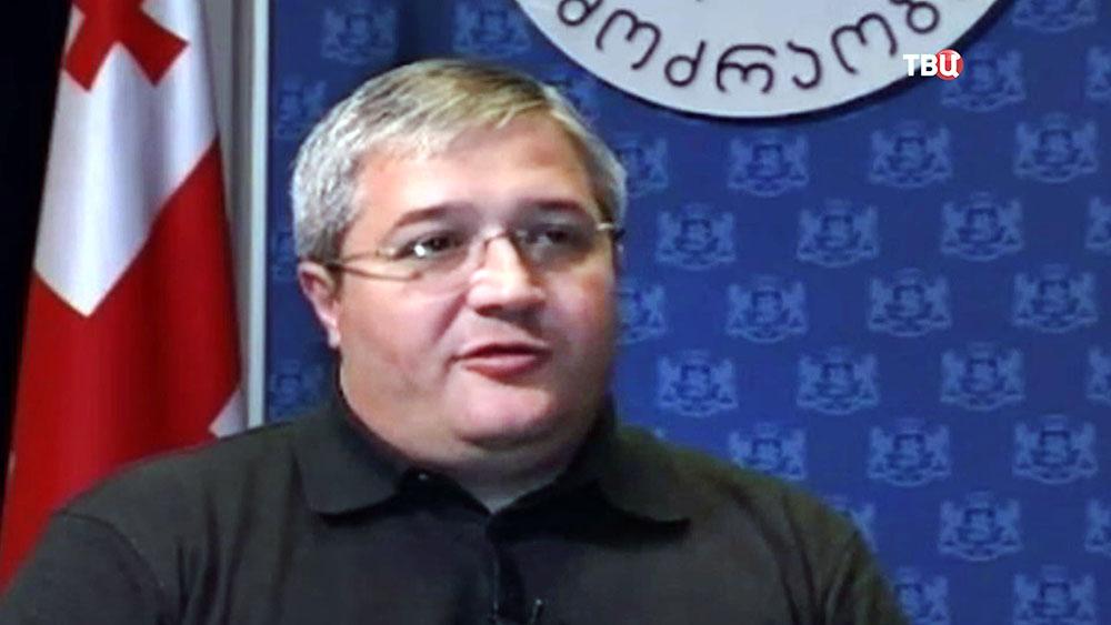 Грузинский политик Гиви Таргамадзе