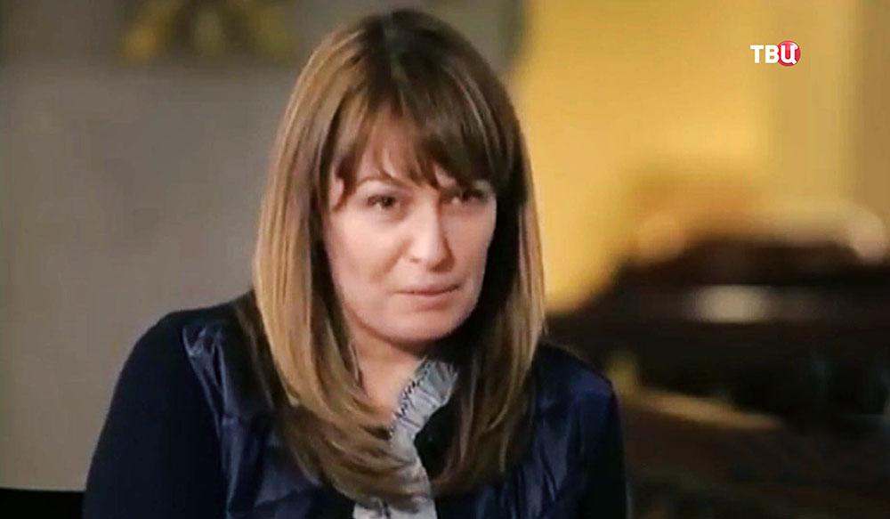 Супруга Саакашвили - Сандра Руловс