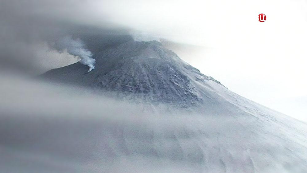 Камчатский вулкан Шивелуч
