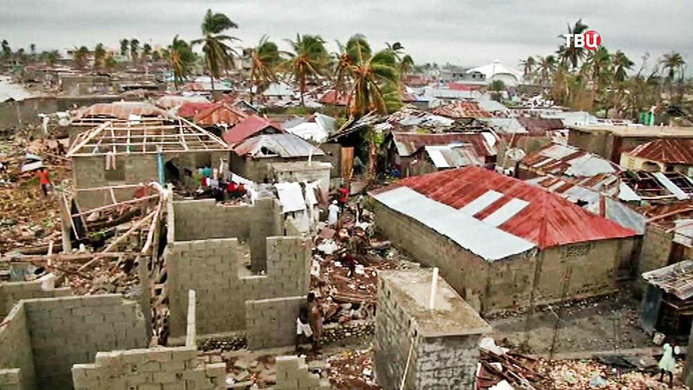 Последстви урагана