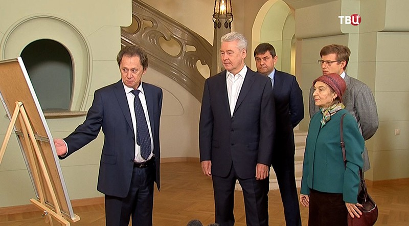 Сергей Собянн в комплексе Товарищества скоропечатни Александра Левенсона