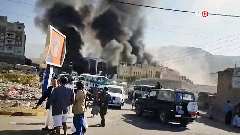 Взрыв в Йемене
