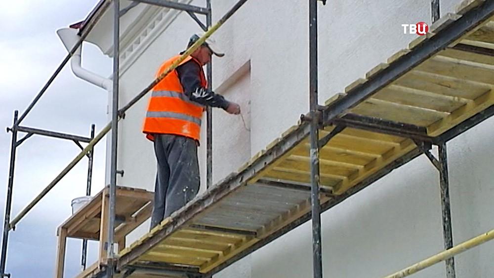 Реставрация выставочного павильона в Херсонесе