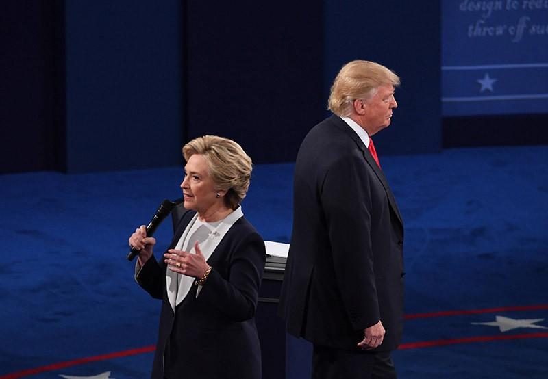 Теледебаты кандидатов в президенты США. Дональд Трамп и Хилари Коинтон