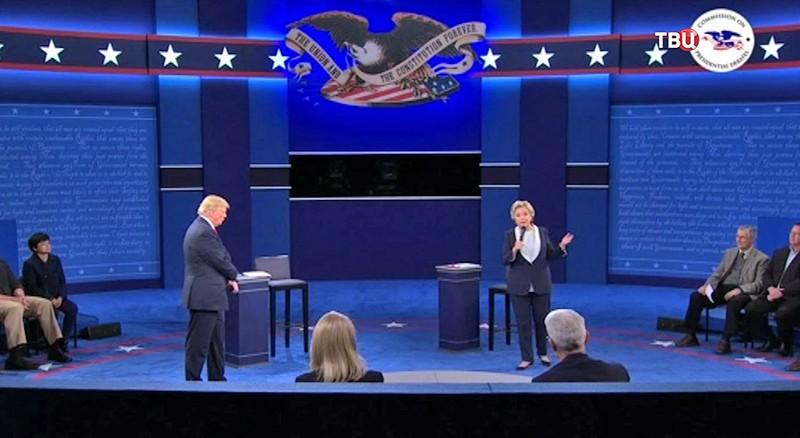 Теледебаты кандидатов в президенты США