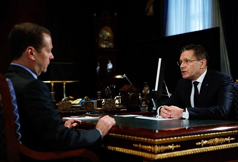 Медведев рассчитывает, что новый руководитель Росатома сохранит темпы развития ядерного комплекса