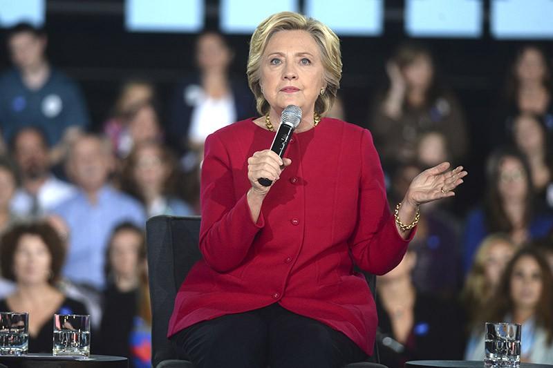 Кандидат в президенты США Хилари Клинтон