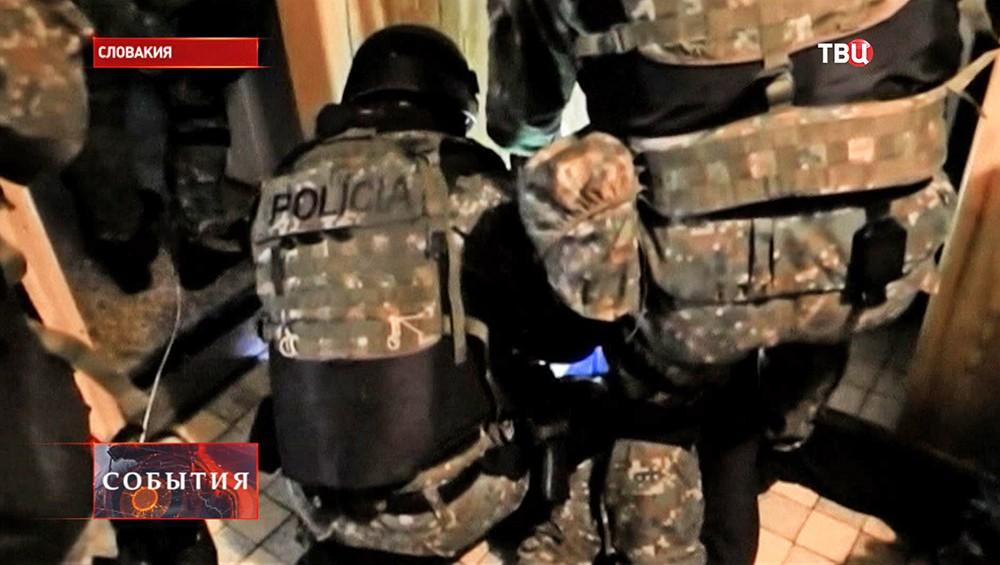 Спецназ полиции Словакии
