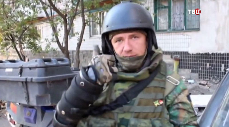 Ополченец ДНР Моторола