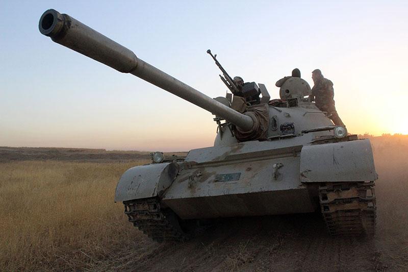 Танк иракской армии