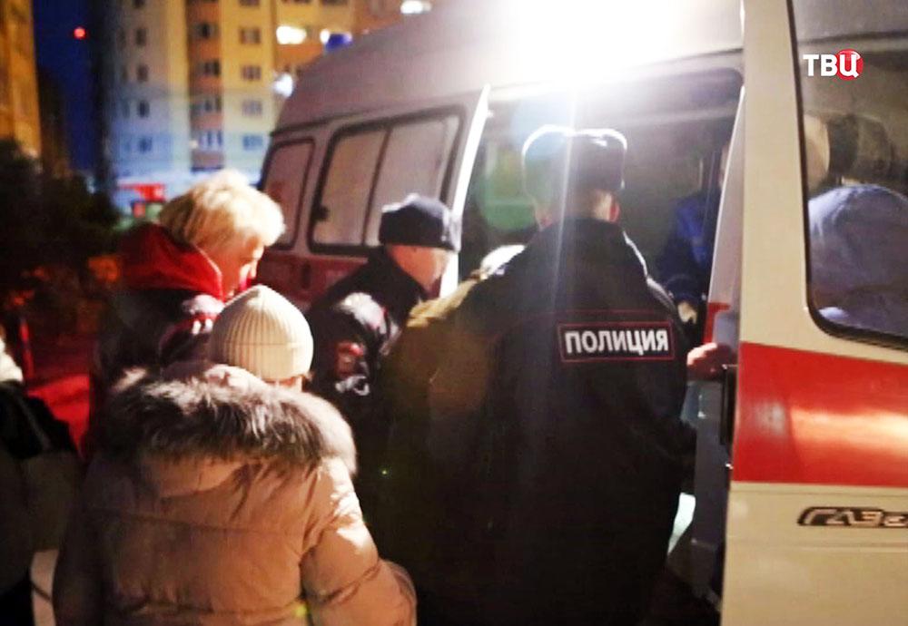 Эвакуация пострадавших