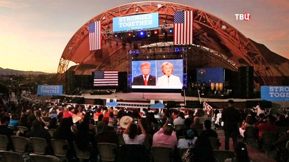 Дебаты кандидатов в президенты США
