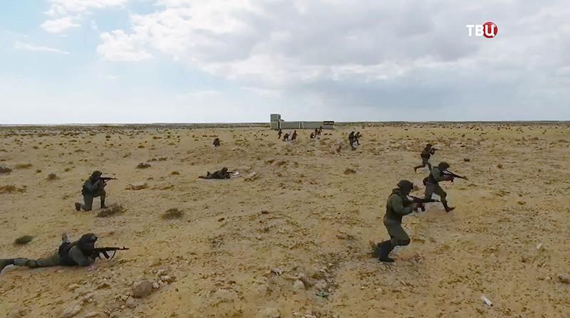 Российско-египетские учения десантников