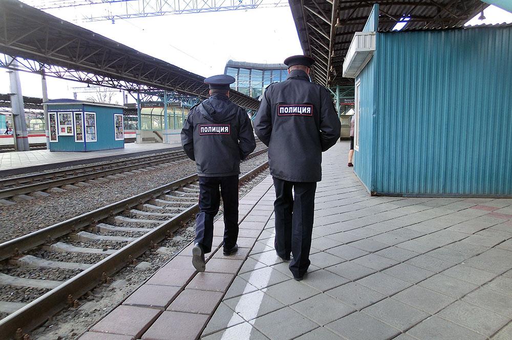 Транспортная полиция на железной дороге