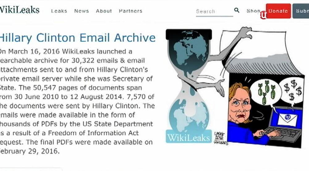 Статья WikiLeaks о Хиллари Клинтон