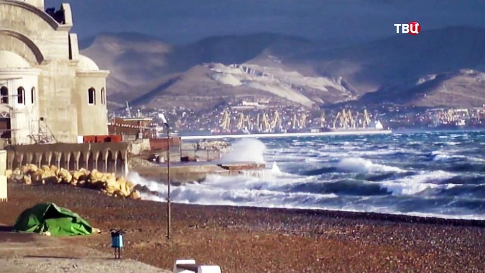 Шторм на Черном море