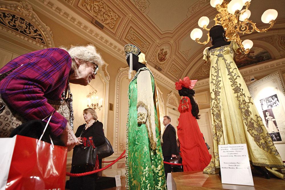 Выставка посвященная 90-летию со дня рождения оперной певицы Галины Вишневской