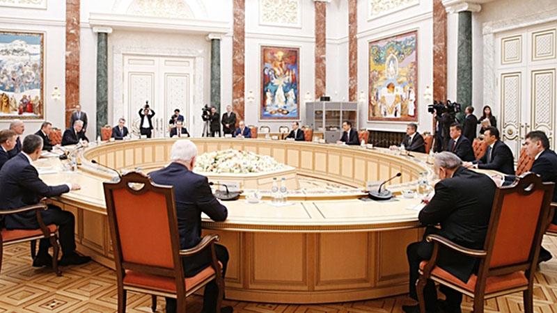 ВМинске проходит встреча глав правительств СНГ