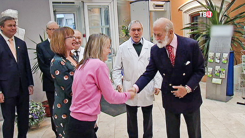 Принц Майкл Кентский посетил детскую больницу имени Сперанского