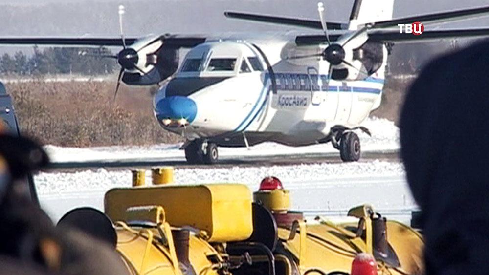 """Самолет L410 UVP-E20 авиакомпании """"КрасАвиа"""""""