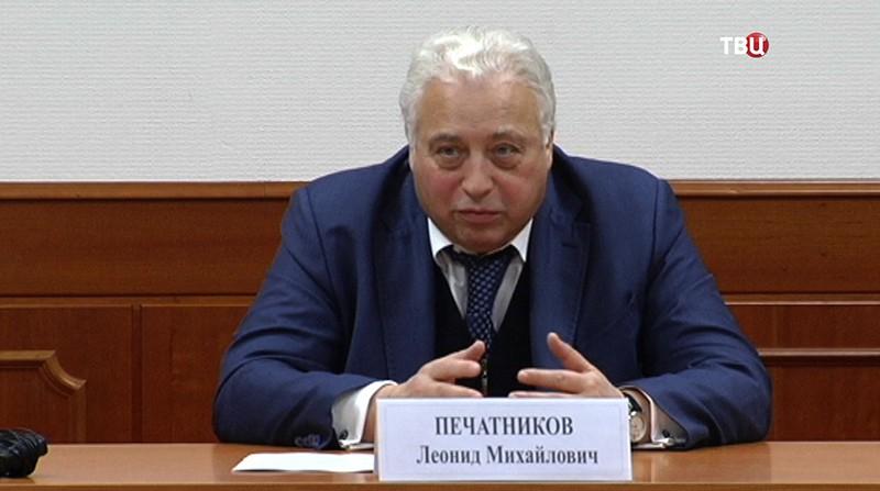 Заместитель мэра Москвы по вопросам социального развития Леонид Печатников,