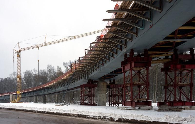 Строительство трассы Солнцево-Бутово-Видное