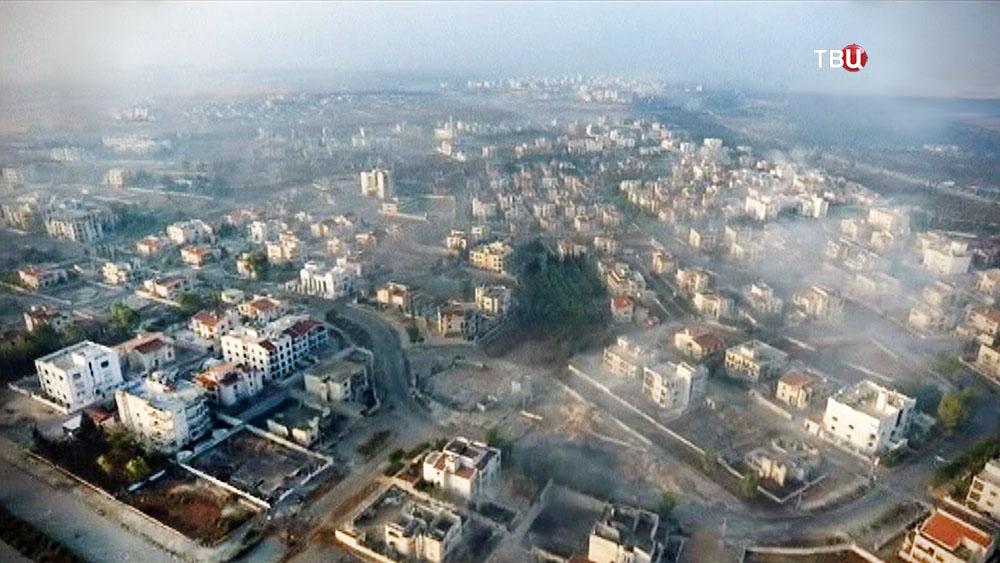Сирийский город Алеппо