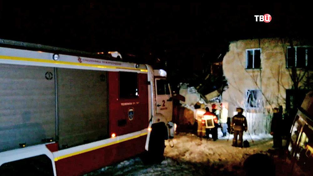 Последствия взрыва газа в Иваново