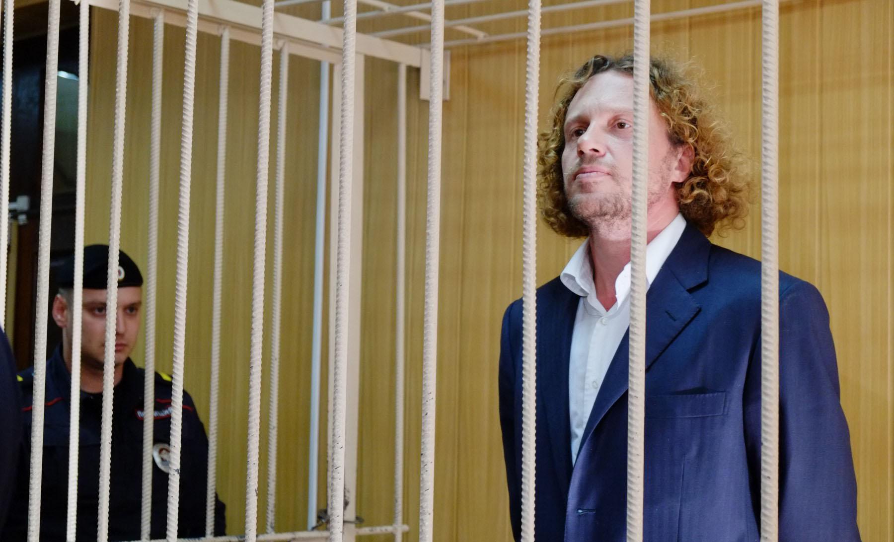 Сергей Полонский в зале суда