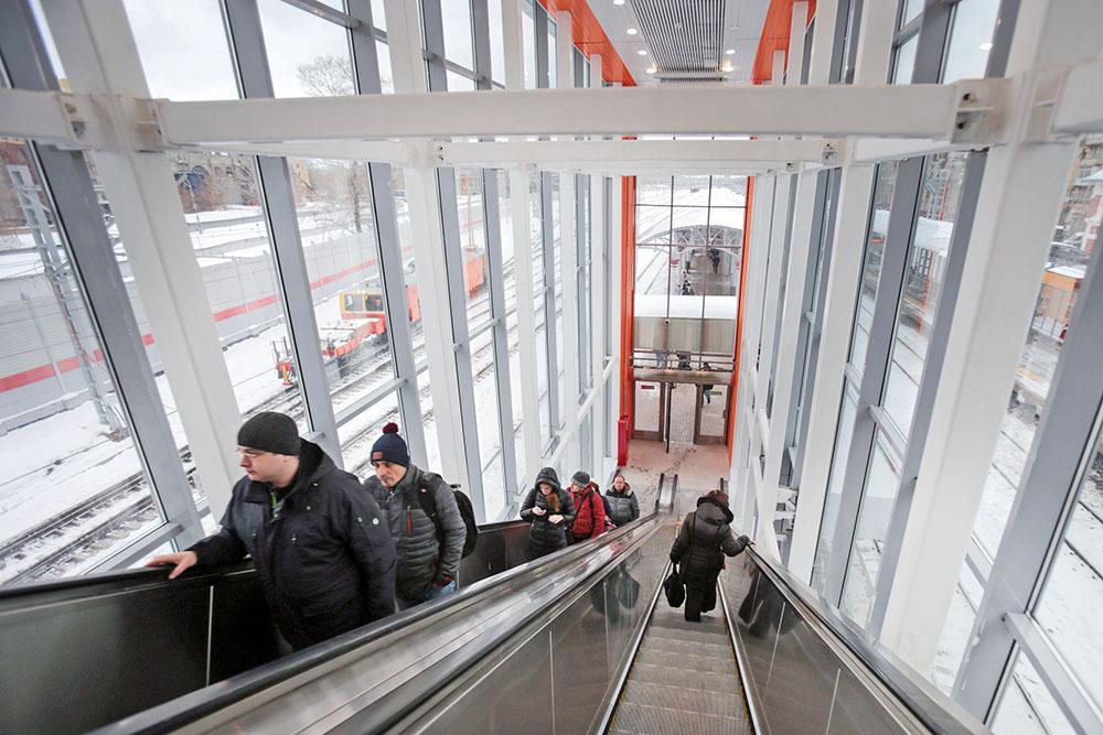 Вестибюль станции Московского центрального кольца (МЦК)