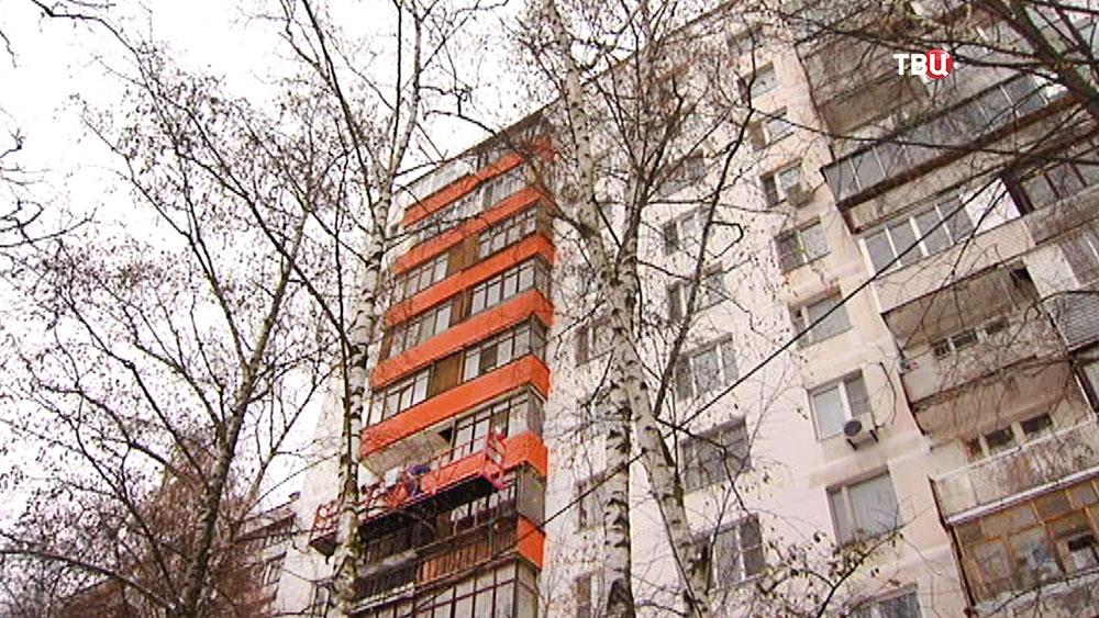 Капремонт фасада здания
