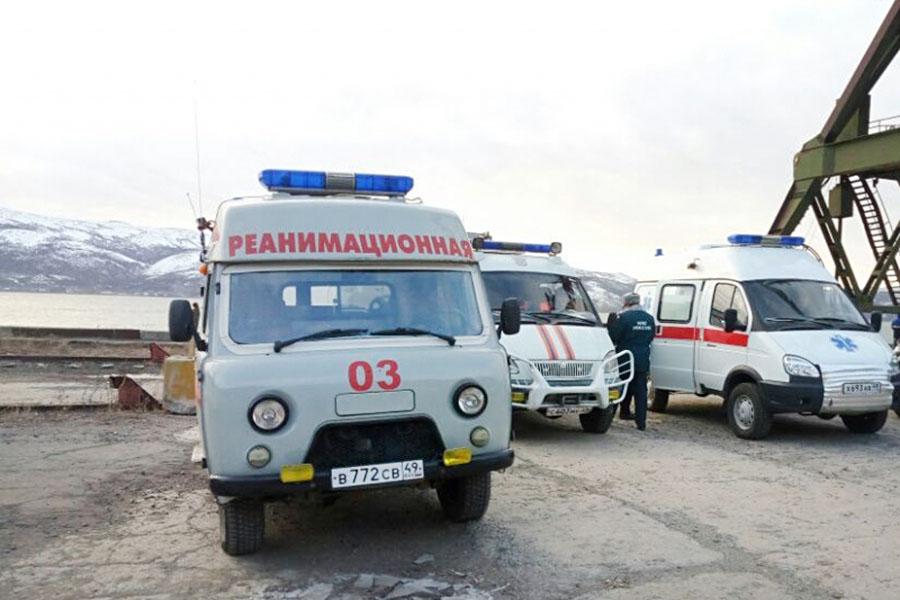Автомобили скорой помощи в Магадане